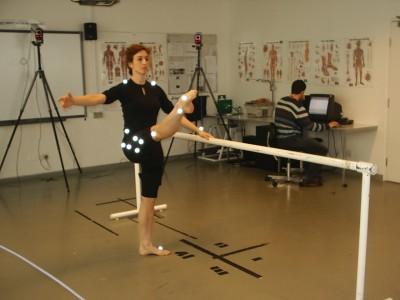 Photo Trinity Laban Dance Science, Dancer: Liza Kovacs