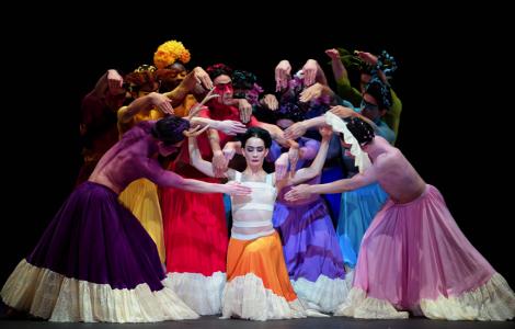 ENB, Tamara Rojo as Frida Khalo in Broken Wings, photo Laurent Liotardo